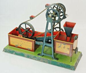 Ancient-Dampfmaschinen-Antriebsmodell-Das-Schopfwerk-Vermutl-ernst-Plank-1E34