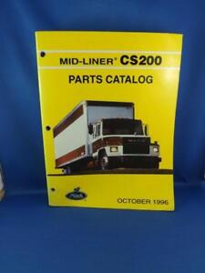 Details about MACK TRUCK PARTS CATALOG 1996 MID LINER CS200 REPAIR SERVICE  REFERENCE