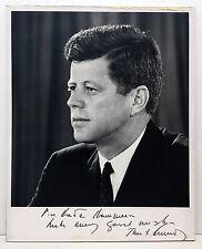 Original John F. Kennedy Hand Signed Photo
