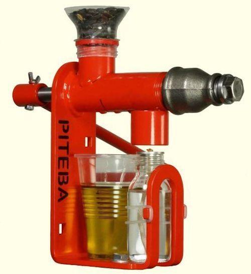 Piteba Nut & Seed Oil Expeller Oil press   SHTF eco raw DUTCH 100%