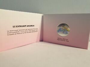 50-Euros-Argent-Colorisee-France-2020-Schtroumpf-Amoureux