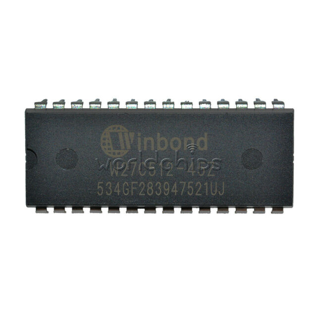 W27C512-45Z W27C512 IC DIP EEPROM 512KBIT 45NS EEPROMs NEW