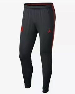 Details about Nike X Jordan PSG Paris Saint Germain Dry Fit Squad Pants Large AQ0958 021