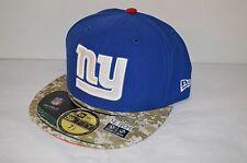 New $38 New Era 59Fifty NY Giants 2013 Salute to Service sz 7 1/2 Rare