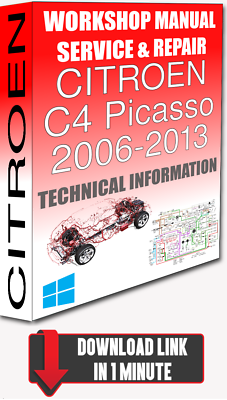 CITROEN C4 PICASSO /& GRAND PICASSO BASIC GUIDE HANDBOOK 2013-2019 BOOK ONLY