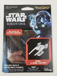 Fascinations-Metal-Earth-U-Wing-Fighter-Laser-Cut-3D-Metal-Model-Kit