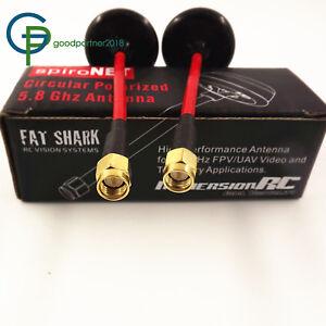 FatShark 5.8GHz Circular Polarized Mushroom Antenna For FPV Aerial Inner Pin New