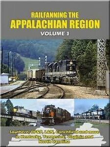Railfanning-the-Appalachian-Region-Volume-1-DVD-NEW-John-Pechulis-Southern-RF-P