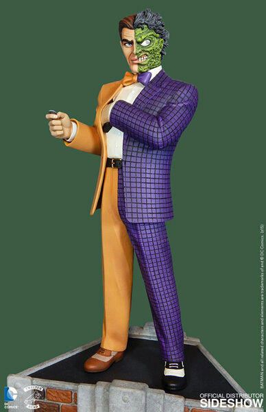 BATMAN CLASSIC COLLECTION TWO-FACE MAQUETTE BY TWEETERHEAD