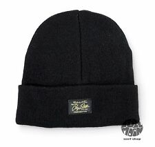 New Obey Watcher Cap Black Hat Beanie