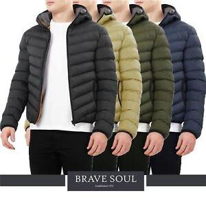 Plain manteau Brave à Doudoune Grant d'origine Homme Soul le sur Matelassé afficher d'hiver titre Détails Rembourré Capuche yv7b6Ygf