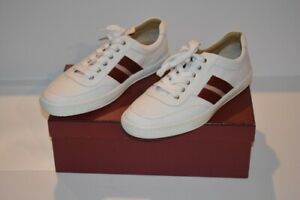 Leather Sneakers Shoes in White Sz 10.5