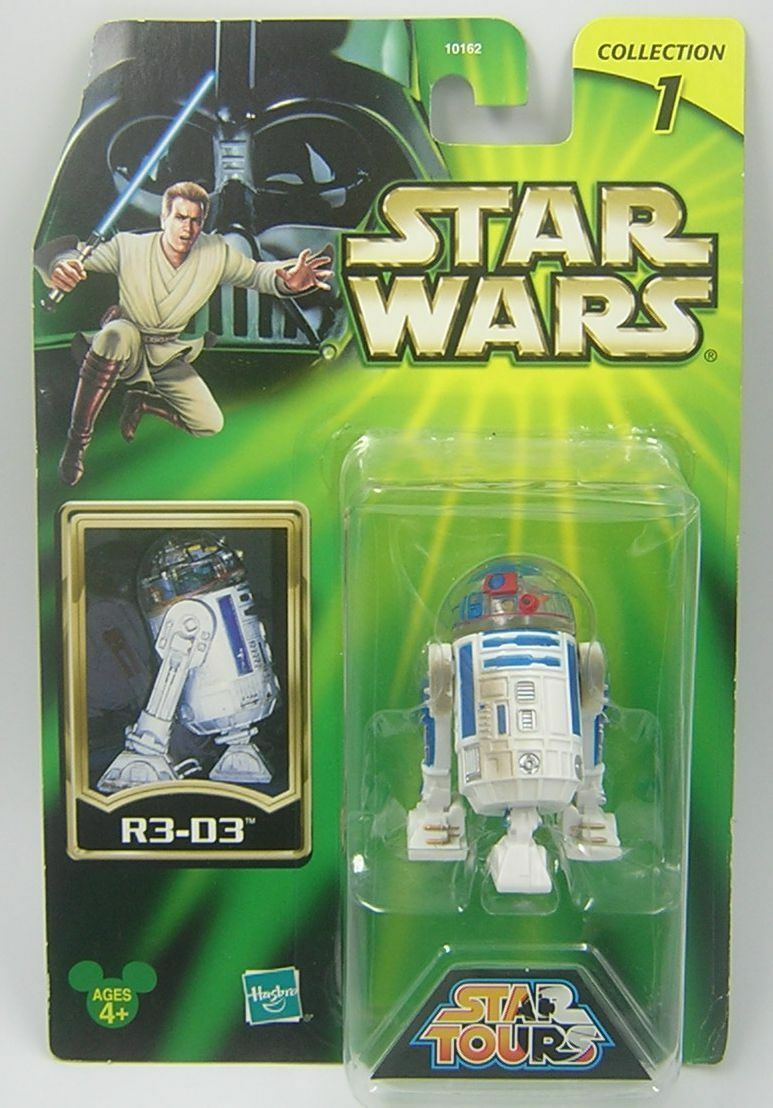 Star Wars Star Tours EXCLUSIVE R3-D3 Astromech Droid