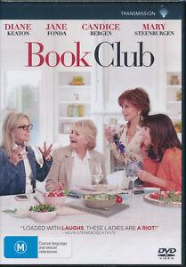 Details about Book Club DVD NEW Region 4 Diane Keaton Jane Fonda Candice  Bergen