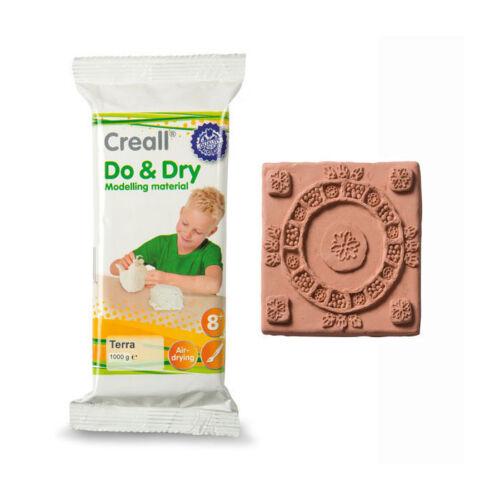 terra 1000g 4,39 € // 1000 g Creall Do /& Dry Modelliermasse