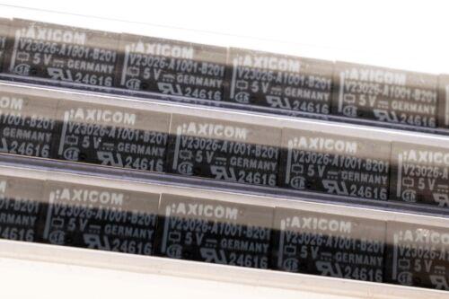 AXICOM V23026-A1001-B201 SPDT 1A 5VDC Signal Relais 13x7.6x6.9mm   # 712509