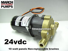 March  809 BR  24vdc Hot water pump   0809-0102-0100  10 watt panels