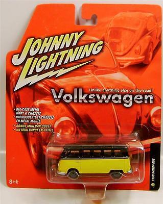 1960 '60 VOLKSWAGEN VW SAMBA BUS JL JOHNNY LIGHTNING DIECAST RARE