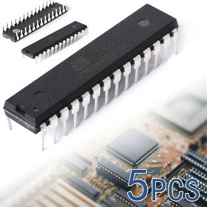 5PCS-ATmega328P-PU-DIP-28-Microcontroller-IC-ATMEL-IC-w-Arduino-UNO-bootloader