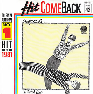 SOFT-CELL-Tainted-Love-PICTURE-SLEEVE-7-45-record-juke-box-title-strip-NEW