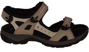 59b3bc808ffb7f Das Bild wird geladen ECCO-Schuhe-OFFROAD-SANDAL-Trekking-Sandalen-beige -kombi-