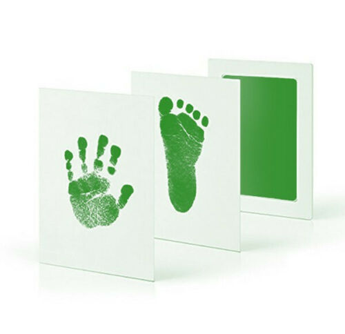 5 Colors Newborn Baby Footprint Safe Mess Free Stamp Infant Inkless Ink  Pad Kit