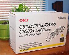 Genuine OKI Image Drum New 42126601 C5100 C5150 C5200 C5300 C5400 Yellow