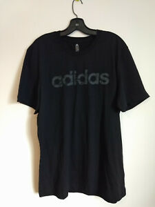Black-Adidas-T-Shirt-XL