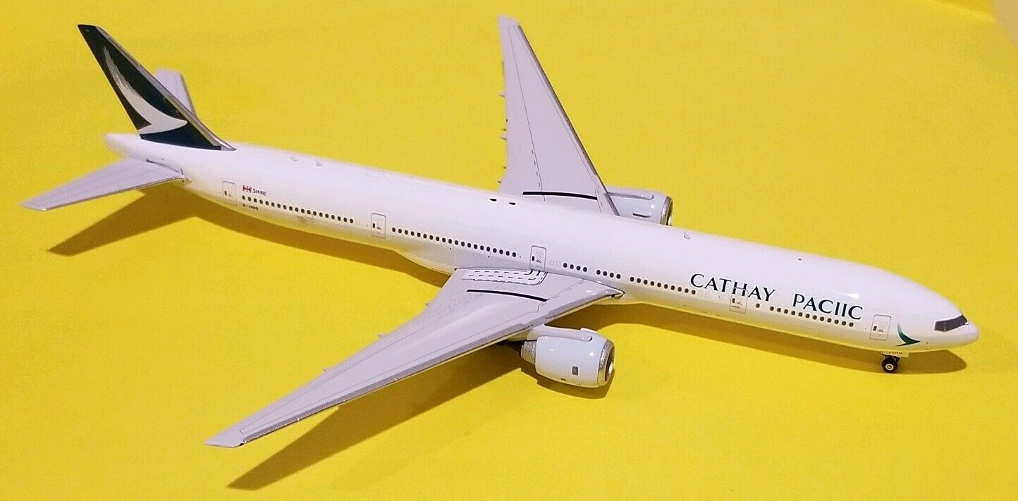 Phoenix Models 1 400 Cathay Pacific 777-300ER  PACIIC  Titles Mispaint B-HNO