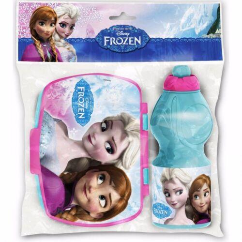 Disney Frozen Trinkflasche Set Die Eiskönigin Brotdose