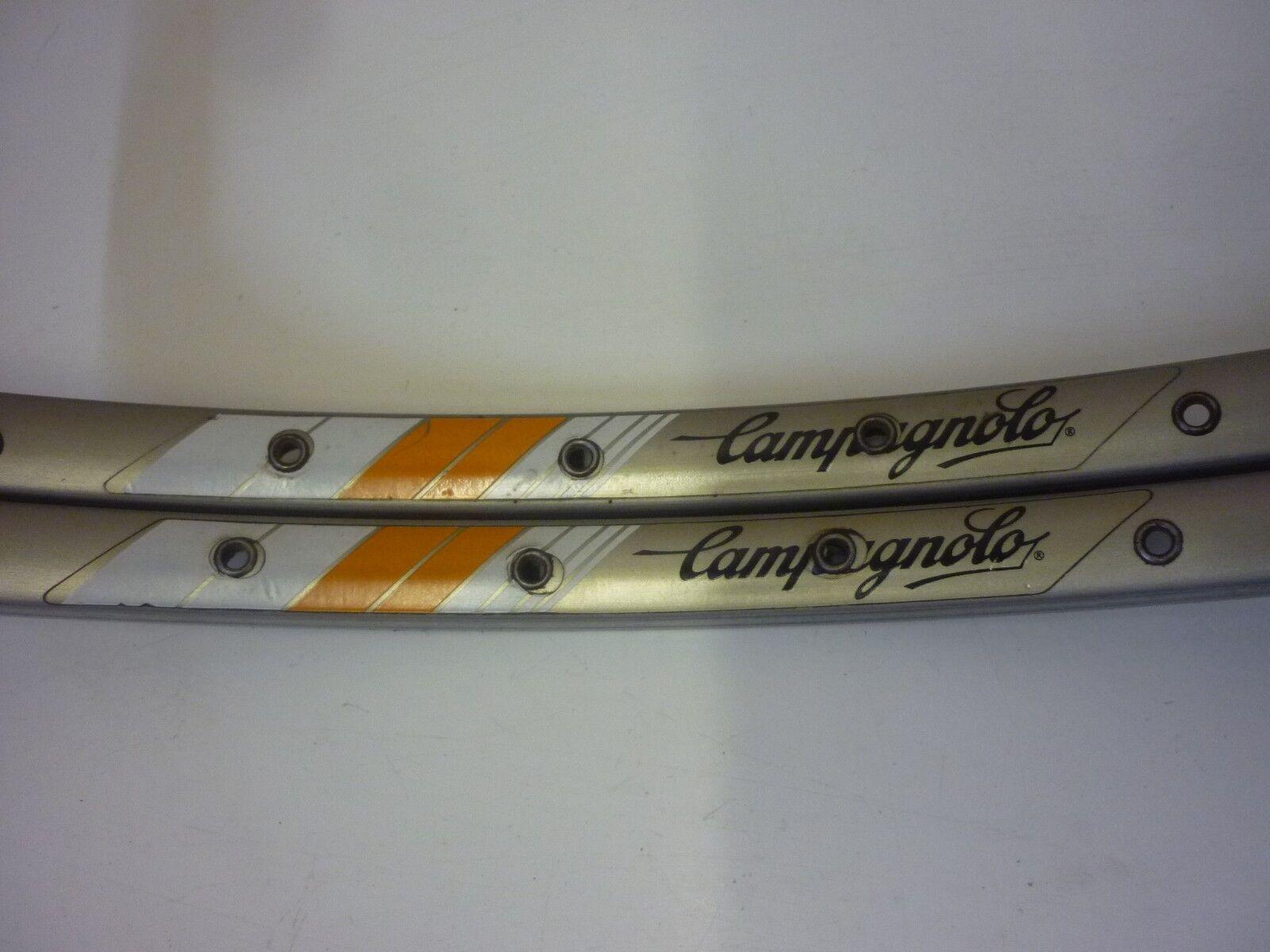 JANTES CAMPAGNOLO EPSILON STRADA G25 36H 36H 36H TUBULAR RIMS aa1844