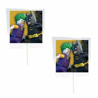 12 Batman Lego Lollipops Candy For Party Favors Made In The U.s.a.
