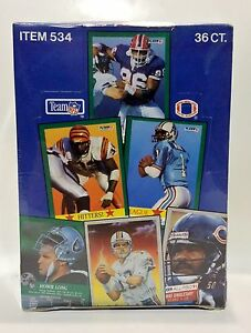 1991-FLEER-Football-card-box-Sealed-contains-36pks
