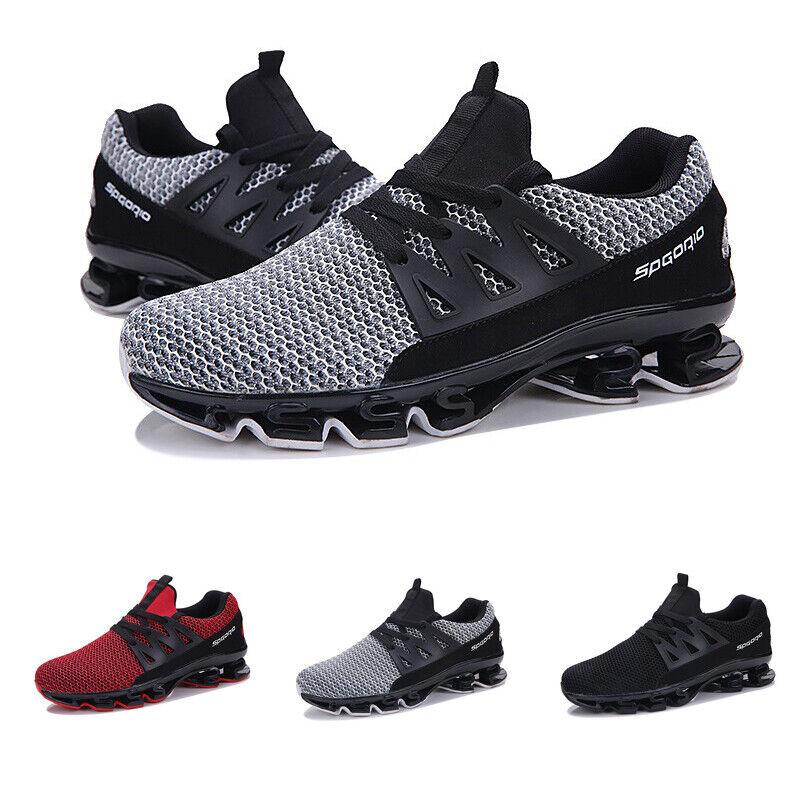 Mens Baseball Athletic Sneaker Sport Comfort Running Leisure Mesh shoes Outdoor