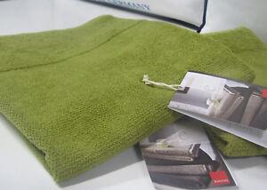 Asciugamano-Ospite-Eco-Emotion-Verde-60x40-Cotone-Organ-Biologico-500gr-Zucchi