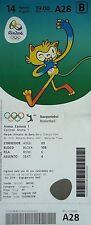 TICKET M 14.8.2016 Olympic Rio Basketball Men's Australien - Venezuela # A28