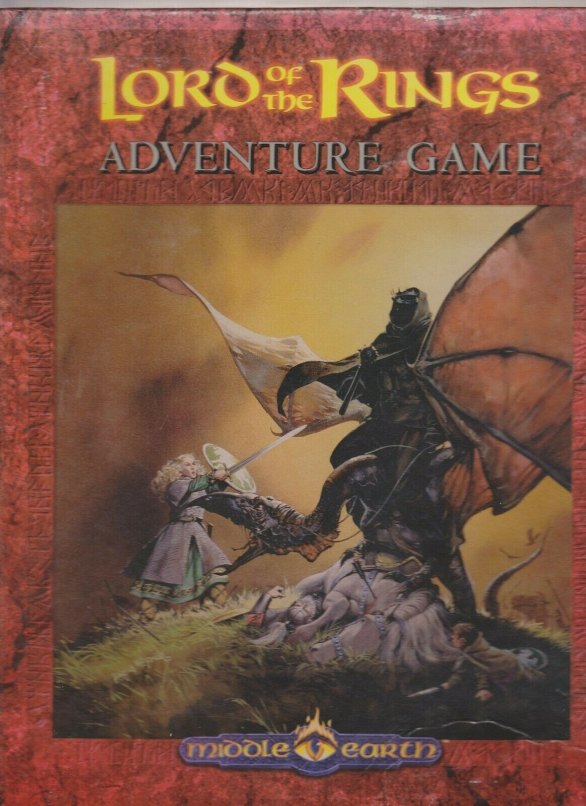 Lord of the Rings Adventure Game Dawn Dawn Dawn Comes Early ICE ST  LR0 RPG NO STANDS 3e7223