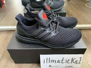 Details about Adidas Ultraboost Triple Black Manchester Ultra Boost EG8088 US 8 9 9.5 12