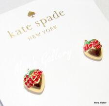 Kate Spade Handbag Earrings Earring post strawberry outside the box NWT KSNY
