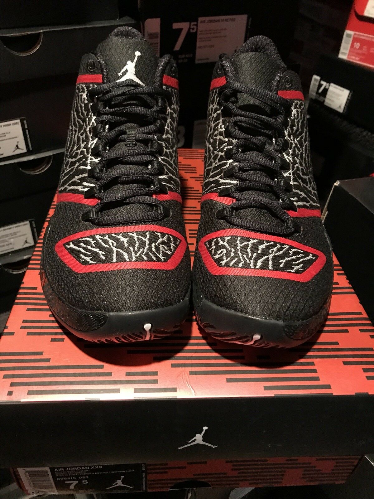 NIKE AIR JORDAN XX9 29 BLACK BRED ELEPHANT 695515 023 Price reduction Great discount