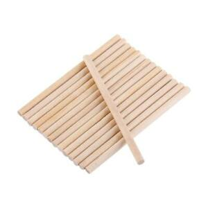 Round-Birch-Wood-Craft-Sticks-Wooden-Dowel-Rods-Set-of-100-Wood-Color-Hot