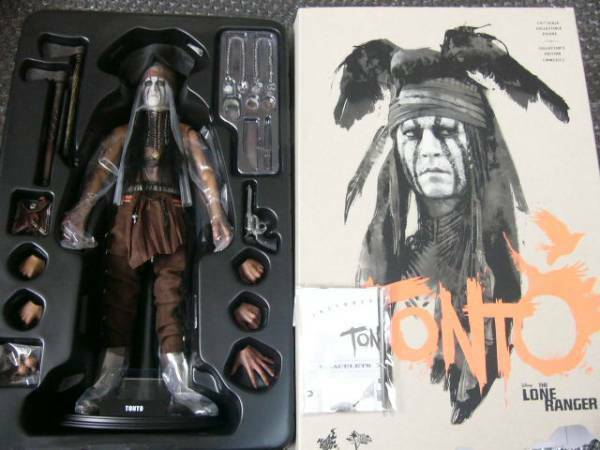 Hot Toys The Lone Ranger TONTO Johnny Depp Figure 1/6 Scale