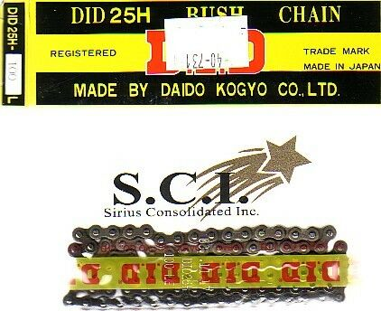 ENGINE CAM TIMING CHAIN HONDA XL100 SL100 TL125 XL185 XR200 TLR200 DID D.I.D