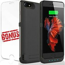 iPhone 7 Battery Charger Case: For Apple iPhones 7 6 6S Best Christmas Gift Port