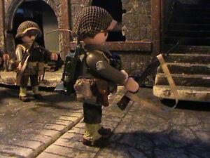 PLAYMOBIL-CUSTOM-US-INFANTRY-DIVISION-COMUNI-NORMANDIA-1944-REF-0161-BIS
