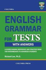 Columbia English Grammar for Tests by Richard Lee (2012, Paperback)