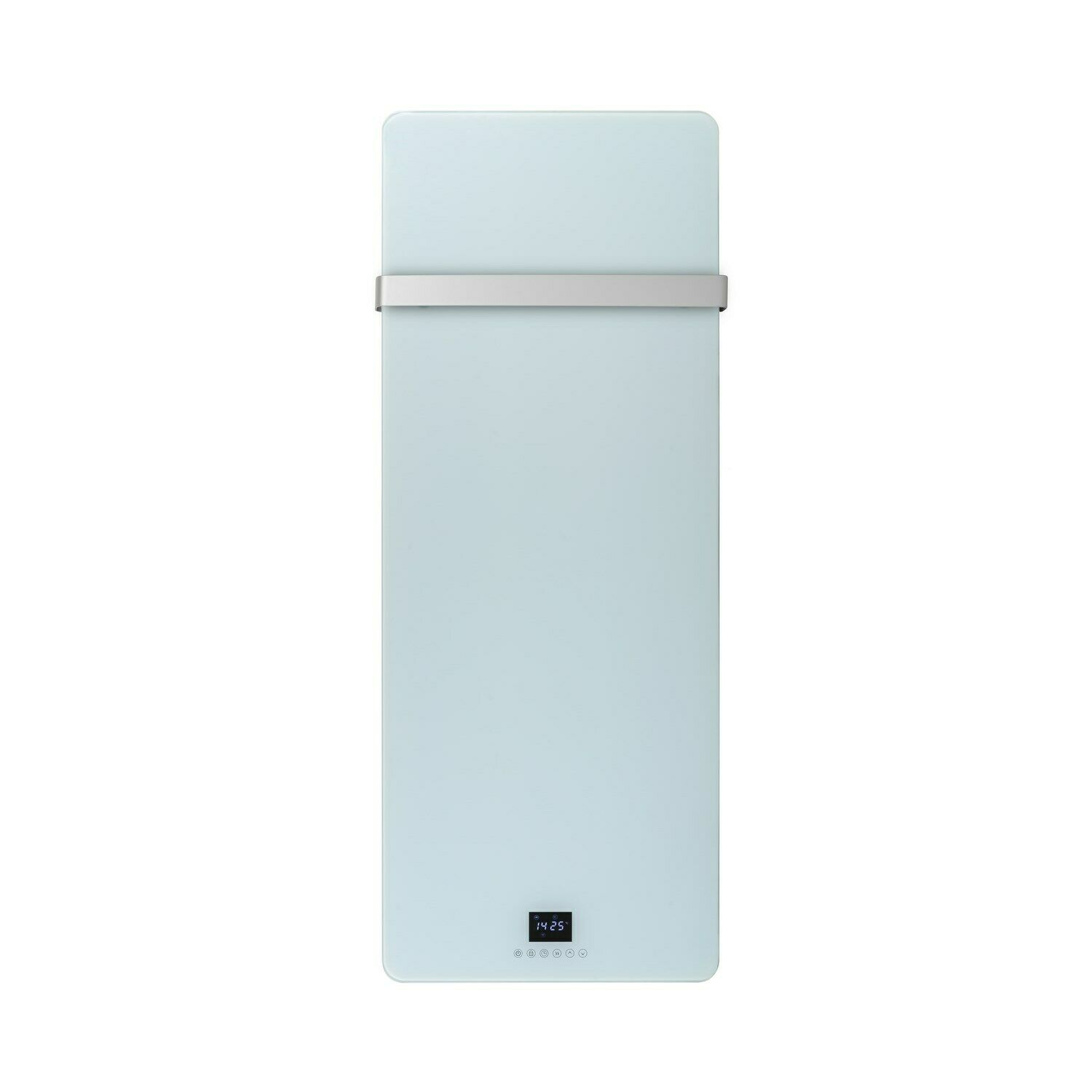 Low Energy 850w Designer Glass Infrared Wall Mounted Heater with Towel Rail and