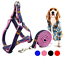 miniatura 9 - Pettorina imbracatura per cane cani regolabile guinzaglio media taglia collare