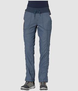 239 The North Face Mujer Azul Afrodita 2 0 Senderismo Calce Recto Pantalones Talla M Ebay