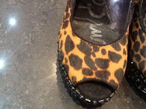 Sam Edelman New /& Gen cheveux mi-hauteur à Talon Plateforme Chaussures UK 3.5 US 6 EU 36.5